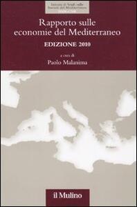 Rapporto sulle economie del Mediterraneo 2010 - copertina