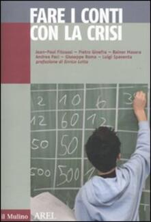 Antondemarirreguera.es Fare i conti con la crisi Image
