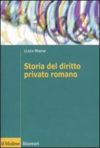 Storia del diritto romano - Ulrich Manthe - copertina