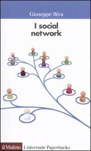 I social network - Giuseppe Riva - copertina