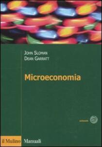 Microeconomia - John Sloman,Dean Garratt - copertina
