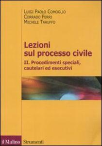 Foto Cover di Lezioni sul processo civile. Vol. 2, Libro di AA.VV edito da Il Mulino
