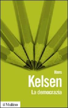 La democrazia - Hans Kelsen - copertina