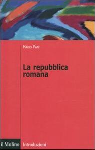 La repubblica romana - Mario Pani - copertina