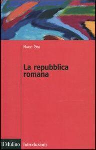 Libro La repubblica romana Mario Pani