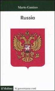 Foto Cover di Russia, Libro di Mario Ganino, edito da Il Mulino