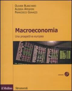 Macroeconomia - Olivier J. Blanchard - copertina