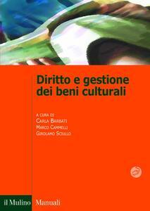 Diritto e gestione dei beni culturali - copertina