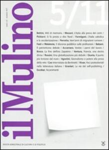 Il Mulino. Vol. 457 - copertina