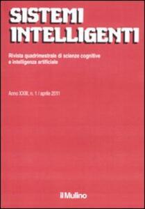 Sistemi intelligenti (2011). Vol. 1 - copertina