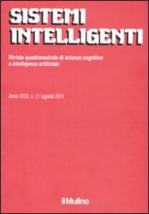 Sistemi intelligenti (2011). Vol. 2 - copertina