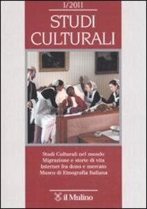 Studi culturali (2011). Vol. 1 - copertina