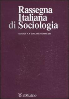 Capturtokyoedition.it Rassegna italiana di sociologia (2011). Vol. 3 Image