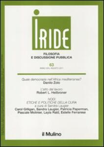 Iride (2011). Vol. 2 - copertina