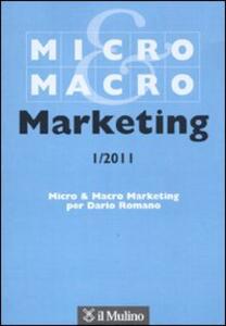 Micro & Macro Marketing (2011). Vol. 1 - copertina