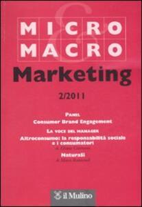Micro & Macro Marketing (2011). Vol. 2 - copertina