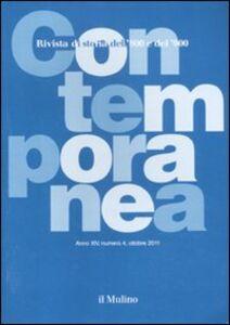 Foto Cover di Contemporanea (2011). Vol. 4, Libro di  edito da Il Mulino