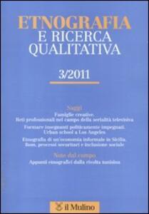 Etnografia e ricerca qualitativa (2011). Vol. 3 - copertina
