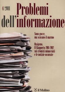 Steamcon.it Problemi dell'informazione (2011). Vol. 4 Image