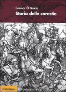 Storia delle carestie - Cormac Ó Gráda - copertina