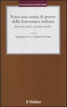 Warholgenova.it Verso una storia di genere della letteratura italiana. Percorsi critici e gender studies Image