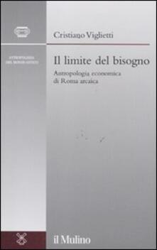 Antondemarirreguera.es Il limite del bisogno. Antropologia economica di Roma arcaica Image