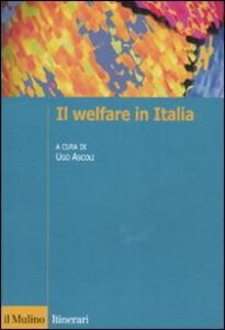 Il welfare in Italia - copertina
