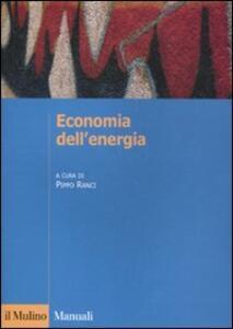 Economia dell'energia - copertina