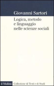 Ristorantezintonio.it Logica, metodo e linguaggio nelle scienze sociali Image