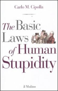 Cocktaillab.it The basic laws of human stupidity Image