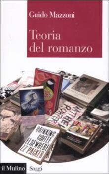 Teoria del romanzo - Guido Mazzoni - copertina