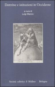 Dottrine e istituzioni in Occidente - copertina