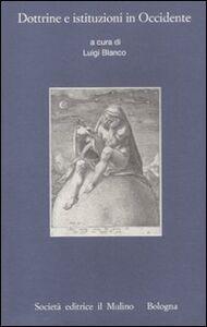 Libro Dottrine e istituzioni in Occidente