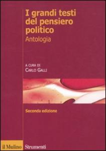 Libro I grandi testi del pensiero politico