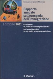 Rapporto annuale sull'economia dell'immigrazione 2011 - copertina