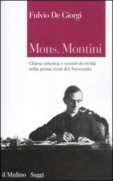 Cefalufilmfestival.it Mons. Montini. Chiesa cattolica e scontri di civiltà nella prima metà del Novecento Image