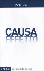 Causa/effetto - Paola Dessì - copertina