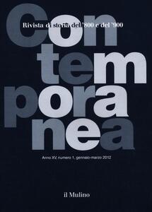 Contemporanea (2012). Vol. 1 - copertina