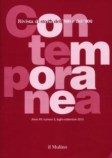 Contemporanea (2012). Vol. 3 - copertina
