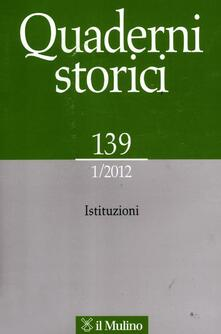 Radiosenisenews.it Quaderni storici (2012). Vol. 1 Image