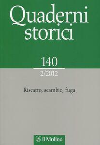 Libro Quaderni storici (2012). Vol. 2