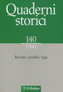Listadelpopolo.it Quaderni storici (2012). Vol. 2 Image