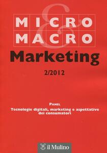 Micro & Macro Marketing (2012). Vol. 2 - copertina