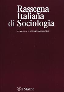 Rassegna italiana di sociologia (2012). Vol. 4 - copertina