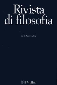 Fondazionesergioperlamusica.it Rivista di filosofia (2012). Vol. 2 Image