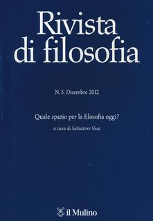 Cefalufilmfestival.it Rivista di filosofia (2012). Vol. 3 Image