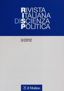 Rivista italiana di scienza politica (2012). Vol. 3 - copertina