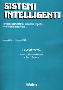 Sistemi intelligenti (2012). Vol. 1 - copertina
