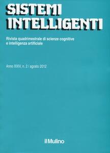 Sistemi intelligenti (2012). Vol. 2 - copertina