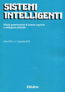 Sistemi intelligenti (2012). Vol. 3 - copertina